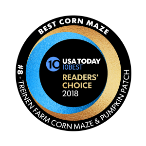 Treinen Farm voted one of the ten best corn mazes in the U.S.
