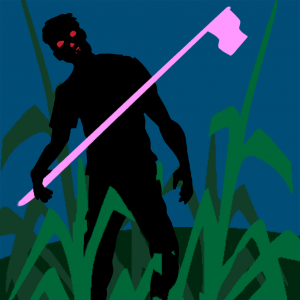 zombie-in-corn-stalks-glowing-eyes-flag1