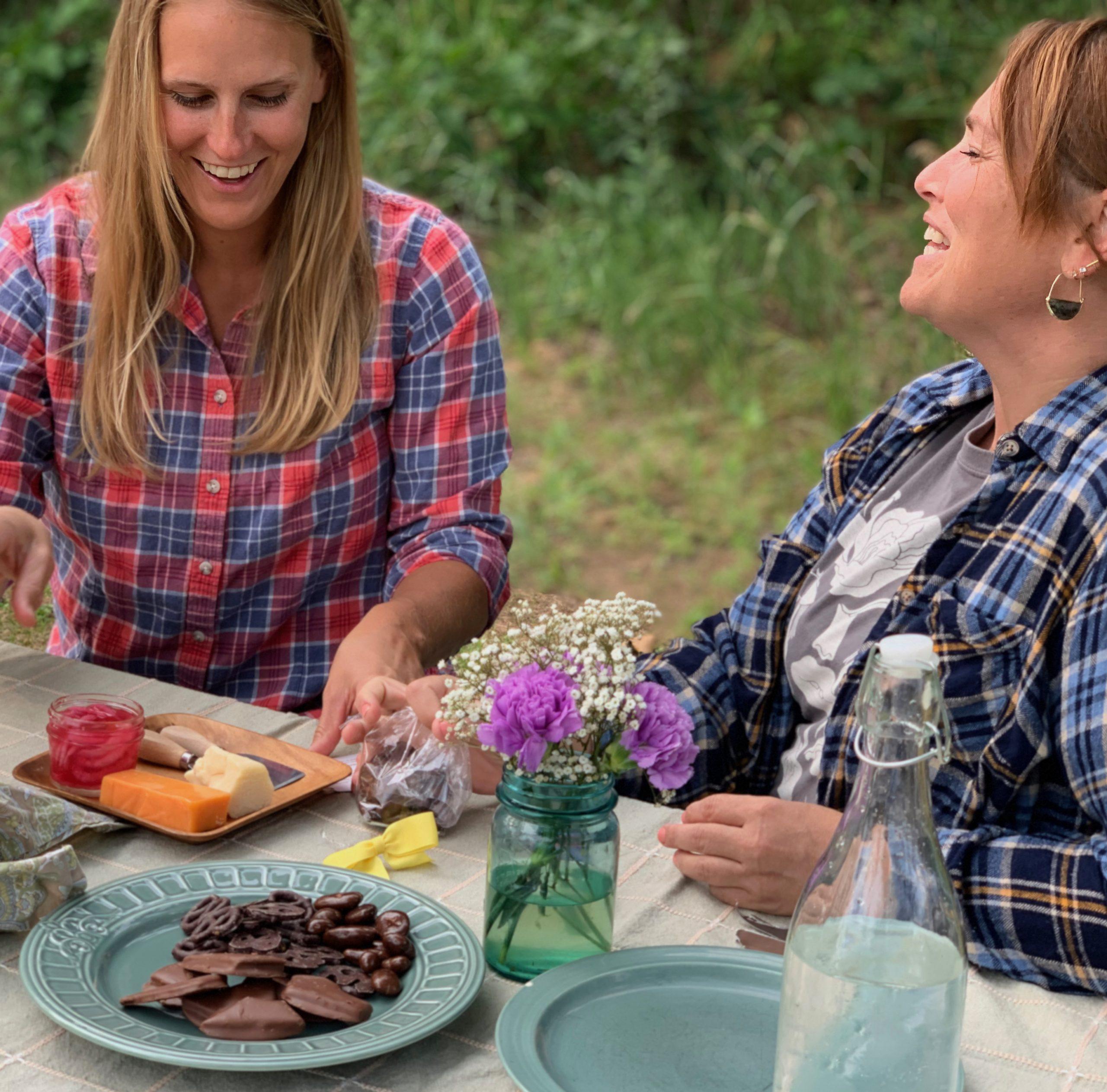 picnic at farm