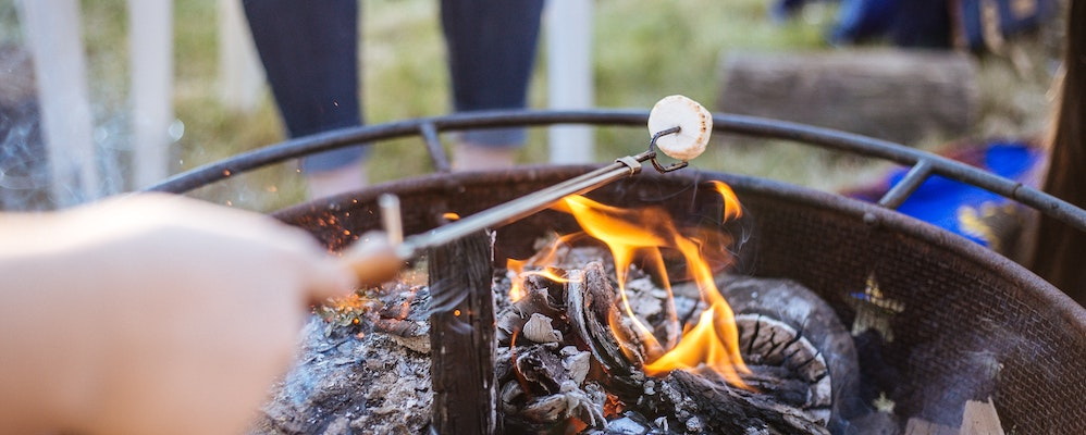 Bonfire and S'mores