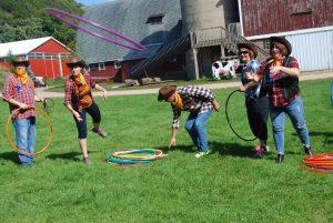 Hula Hoop Cowboys Team Building