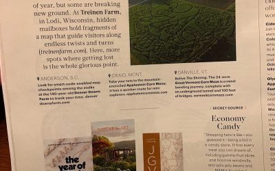 Martha Stewart Living article featuring our farm!