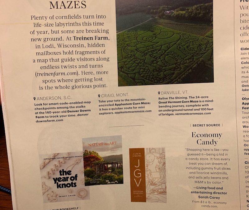 Martha Stewart Living article featuring our farm!