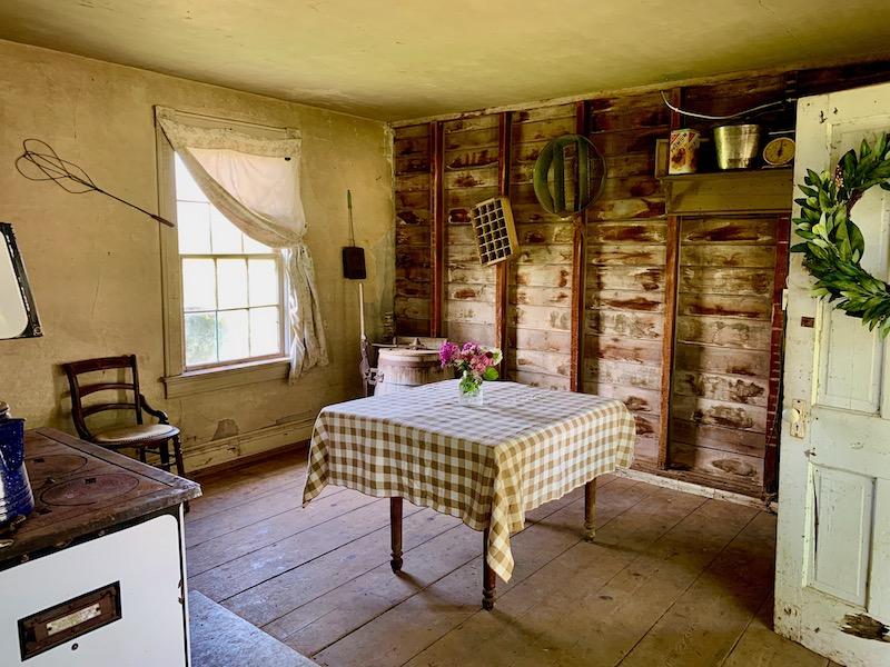 Interior of Summer Kitchen