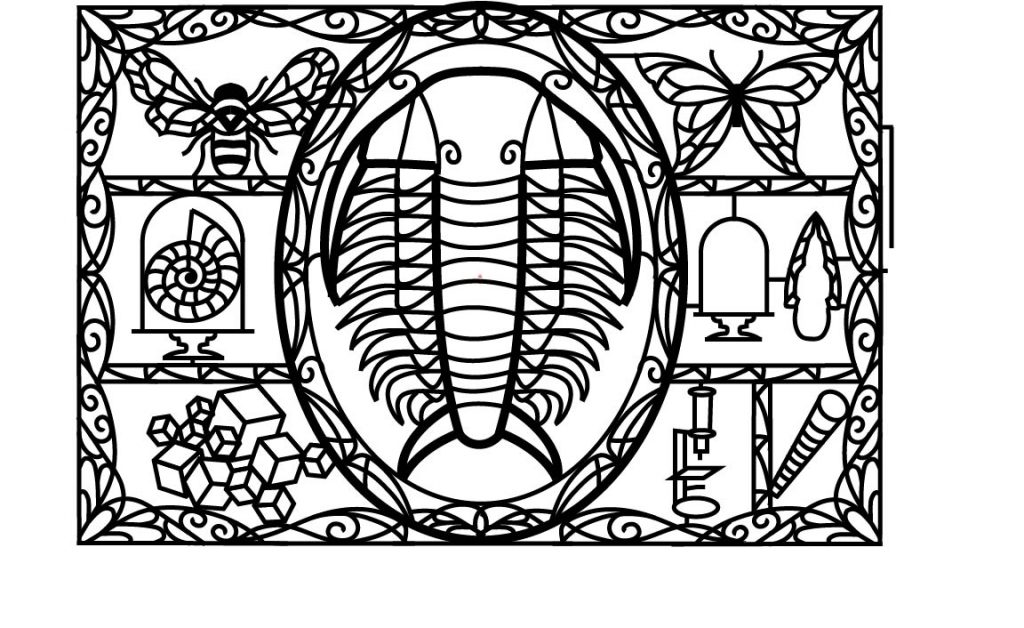 Designing the 2017 Trilobite Cabinet of Curiosities Maze