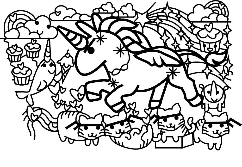 Unicorn maze design