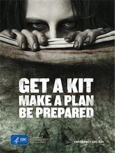 cdc zombie prep kit